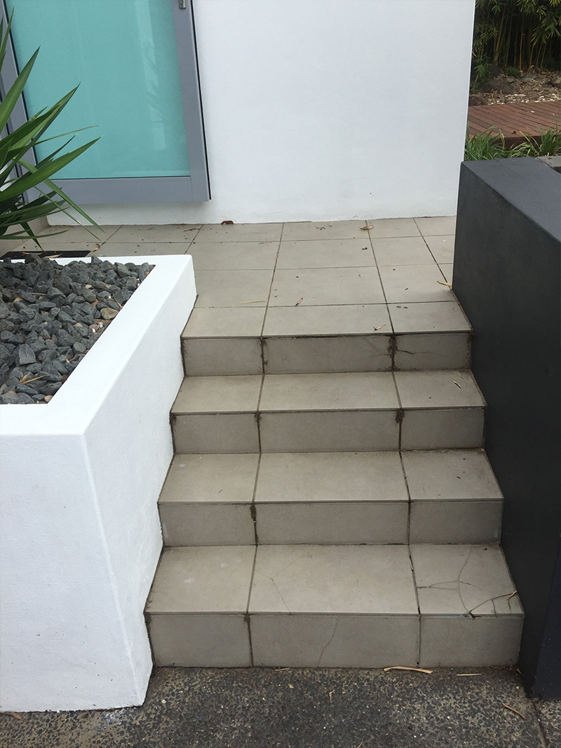 Before-Front Steps